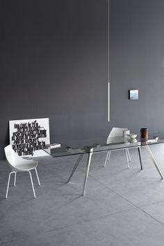 INTERNO IN NERO E GRIGIO on Pinterest  Black Kitchens, Black Walls a ...
