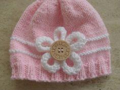 Knitting Pattern Baby Girl/Boy Beanie/Hats  by MarilynsCreation, €2.00