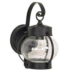 Found it at Wayfair - Lexington 1 Light Wall Lantern in Textured Black