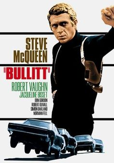 Bullitt (1968) Frank Bullitt (Steve McQueen, who serves as the prototype for every movie cop who refuses to play by the book) must babysit a gangster for 48 hours. But when hit men snuff the witness, Bullitt won't be stopped in his quest for vengeance. This classic 1960s thriller earned immortality in part for a memorable 100-mph car-chase sequence that saw two automobiles bottom out their shock absorbers roaring through San Francisco's hills.