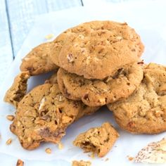 Taro Chip Cookies -  Hawaii's answer to the popular potato chip cookies. These cookies have the perfect combination of crunchy, sweet and salty.
