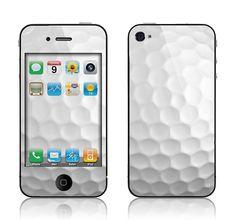 Apple iPhone 4 4S Decal Skin  Golf by skunkwraps on Etsy, $9.95