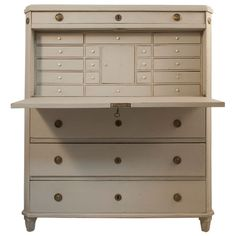 via BKLYN contessa :: Gustavian Secretary