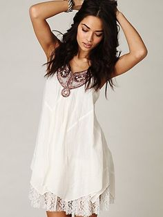 Free People Rainforest Embroidered Dress €99.85