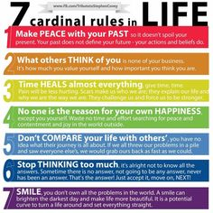 Steven Covey: 7 Cardinal Rules for Life