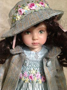 """Spring Bouquet"" OOAK Ensemble for Dianna Effner's 13"" Little Darling Doll | eBay"