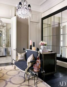 Step inside another historic London townhouse updated with cutting-edge art and design Tour Sting and Trudie Styler's stunning London residence Discover a flat within a 300-year-old English manor, brought back to glorious life Get inspiration for your next redo with AD's slide show of designers' dining rooms