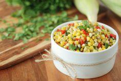 Cilantro Corn Confetti // From The Latin Kitchen