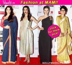 Aishwarya Rai Bachchan, Deepika Padukone, Kalki Koechlin put their stylish foot forward at MAMI opening ceremony! #AishwaryaRaiBachchan