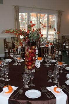 20 Fall Wedding Decoration Ideas