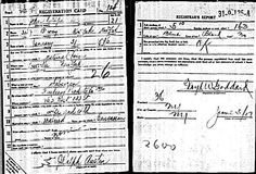 World War I Draft Registration Card for John Ralph Austin, dated June 5, 1917.