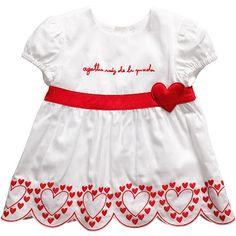 Red red red from Agatha Ruiz de la Prada emma thing, babi thing, dresses, baby girls, babi cloth, babi girl, 101, red dress, design babi