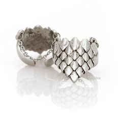 Ever Eden by Michelle Phan - Armor Finger Ring with Chains