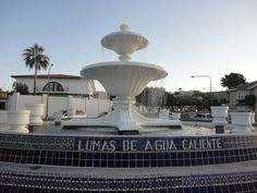 """Agua Caliente Fountain Tijuana""... LUXE MEDICAL TOURISM INTL 904-428-8546 Travel to #Tijuana or #Cancun #Mexico & Pay 50%-75% of US Prices! Luxury medical patient facilitators arrange your surgery & support you thru the process. All-inclusive custom travel & medical packages. #AllInclusive #BariatricSurgery #WeightlossSurgery #CosmeticSurgery #Dental #IVF #SpaVacation #GroupPackages #IndividualPackages #GirlsWeekend #USBirth www.luxemedtour.com www.facebook.com/luxemedtourintl"