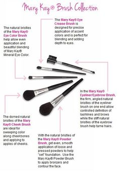 Day 6 of my Mary Kay 12 days of Christmas sale! Get the Mary Kay Professional brush collection for $42!! originally $55. www.marykay.com/bsparkles11