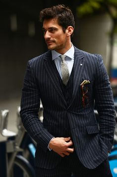 3 piece suit - classic look.