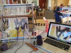 Tapestry weaving with Shelley Socolofsky