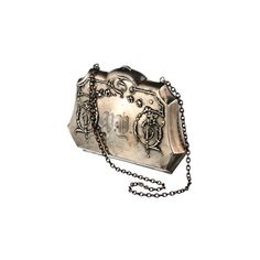 Purse with Chain 1880s ($650) found on Polyvore