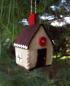 Gingerbread Ornament. Betz White