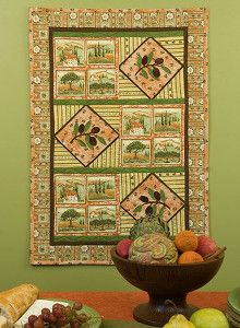 Get a classy autumn look with this Super Rustic Thanksgiving Wallhanging. Fall sewing projects are a great way to transition your home from summer to autumn. Read more at http://www.favequilts.com/Thanksgiving-Day/Super-Rustic-Thanksgiving-Wallhanging#XqTo4uyWrC4xJzo3.99