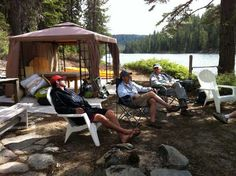 Camping in Plumas County: Bucks Lake lazy afternoon
