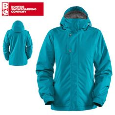 Bonfire Echo Womens Snowboard Jacket - Storm - 2013 | FREE DELIVERY