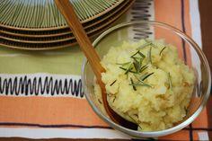 Olive Oil and Roasted Garlic Mashed Potatoes #Recipe