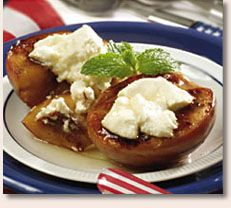 Grilled Summer Peaches with Goat Cheese and Honey Drizzle