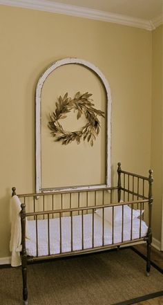 Vintage crib holds a new generation (Story and photo by Cheryl-Anne Millsap)
