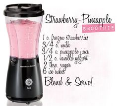 Delicious smoothie recipe! Sub almond milk & natural sweetener, use live, natural yogurt and this is endo friendly!