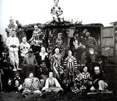 Circus.....clowns.