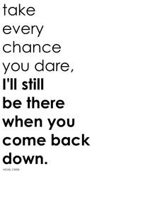 when you come back down (nickel creek)
