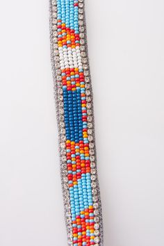 Beaded Headband in Grey by Deepa Gurnani for $27.00