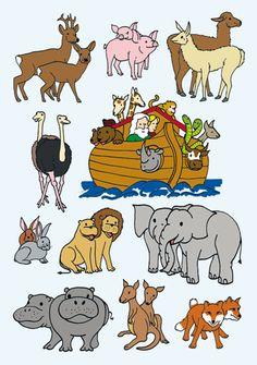 Bible Noah on Pinterest Noahs Ark Craft Bible Stories