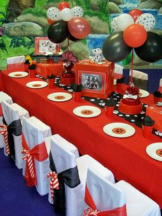 """""""Dalmation Party Table"""" by Treasures and Tiaras Kids Parties, via Flickr"""
