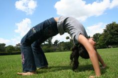 Article on teaching a kids yoga class