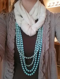 A great way to add a pop of color to our Fall neutrals! premier design, jewelri style, nightsea breez, sea breeze, premier jewelri, breez combo, open nightsea