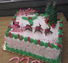 Recipes to make a Moist Chocolate Candy Cane Cake for Christmas