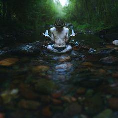 faerietradition:  Inspiration for Blue Fire Meditation