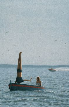 Ohne Titel (Couple in a Boat), Quint Buchholz