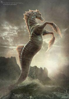 °SeaHorse ~ Percy Jackson Sea of Monsters by pstchoart - TsvetomirGeorgiev