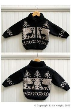 Free Knitting Pattern For Reindeer Jumper : knitting kids on Pinterest Baby Cardigan, Baby Sweaters and Cardigan Pattern