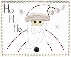 free images of christmas ornies to make | Santa & Snowman Blocks 5x7 : HeartStrings Embroidery, Embroidery ...