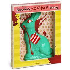 ThinkGeek :: Chocolate Zombie Bunny