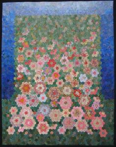 Queensland Quilters - Lorraine Carthew 'My Mothers Garden'