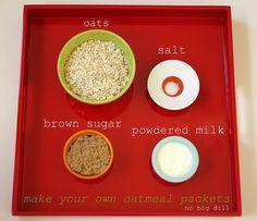 DIY Oatmeal Packs