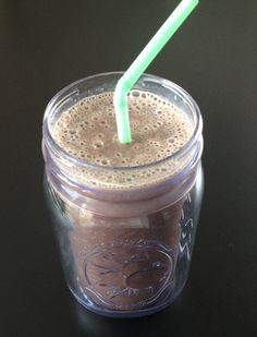 Chocolate Monkey Smoothies - This delicious smoothie packs two servings of fruit in every cup.