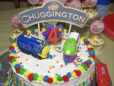 Walker loves Chuggington!