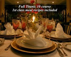 Titanic Murder Mystery Dinner Party Ideas On Pinterest