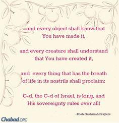 Chabad.org: High Holiday Inspiration
